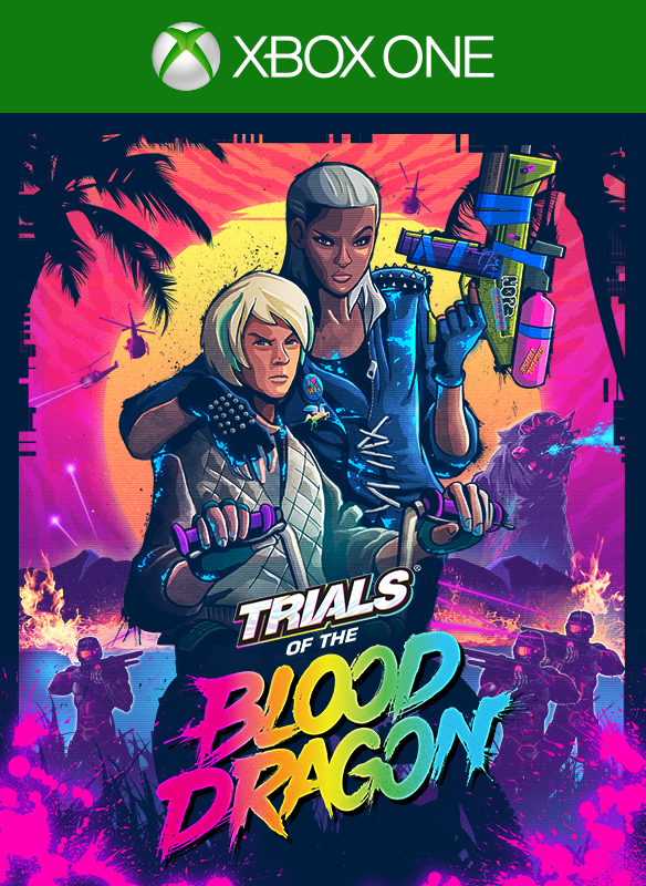 Trials of the Blood Dragon boxshot