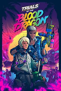 Carátula del juego Trials of the Blood Dragon de Xbox One