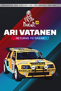 Carátula del juego Ari Vatanen returns to Dakar!