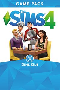 Carátula del juego The Sims 4 Dine Out