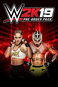 Carátula del juego WWE 2K19 Pre-Order Bonus