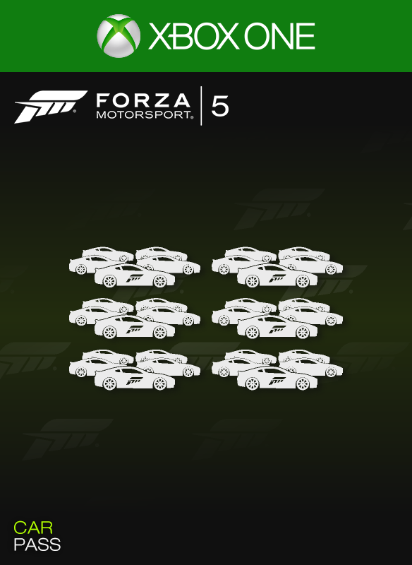 Forza Motorsport 5 Car Pass boxshot