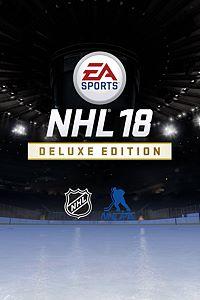 Carátula para el juego EA SPORTS NHL 18 Deluxe Edition de Xbox One