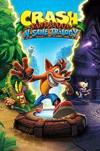 Carátula para el juego Crash Bandicoot N. Sane Trilogy de Xbox One
