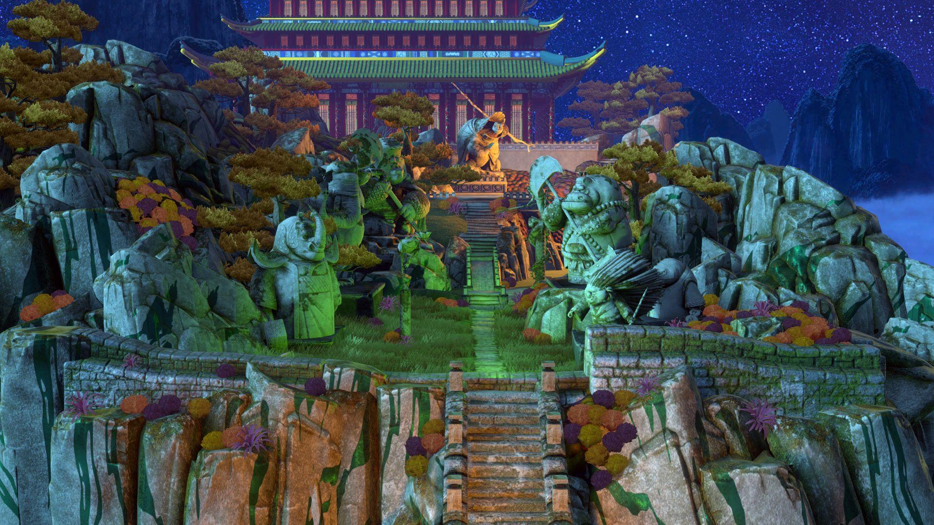 kung fu panda level master garden - Fu Garden