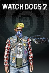 Carátula del juego Watch Dogs2 - BAY AREA THRASH PACK