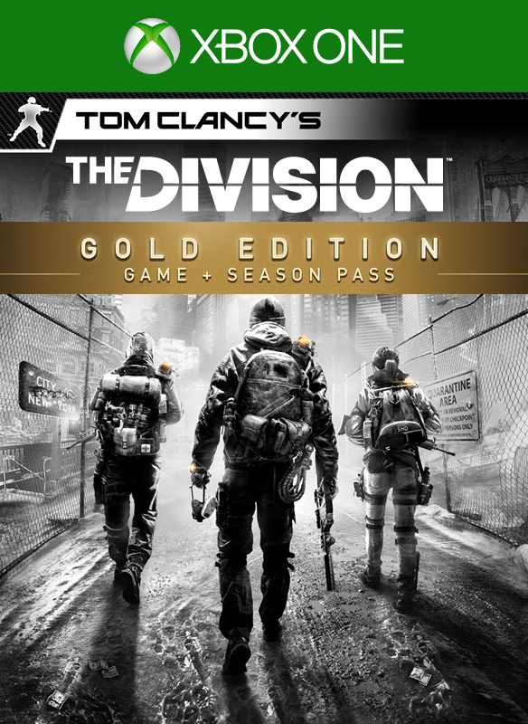 Tom Clancy's The Division Gold Edition boxshot