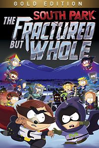 Carátula del juego South Park: The Fractured but Whole - Gold Edition para Xbox One