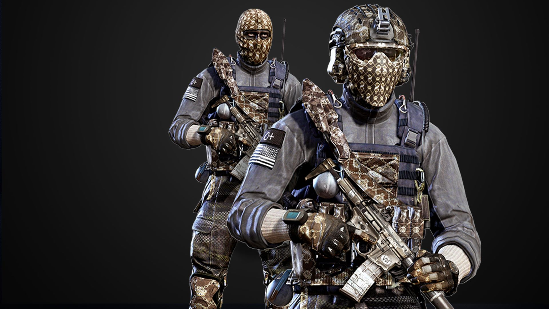 Call Of Duty Ghosts Bling Character Pack