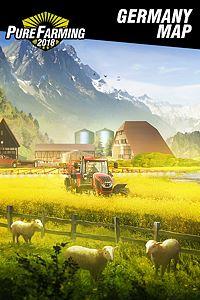 Carátula del juego Pure Farming 2018 - Germany Map