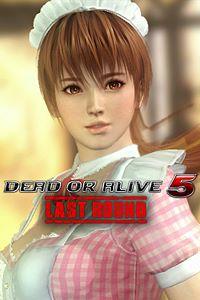 Carátula del juego DEAD OR ALIVE 5 Last Round Kasumi Maid Costume