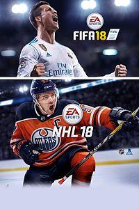 Pacote EA SPORTS™ FIFA 18 e NHL™ 18