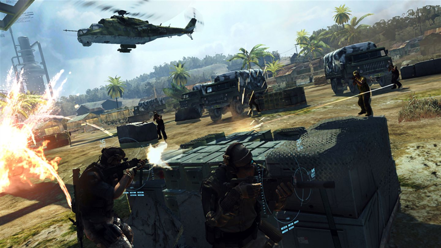 Ghost Recon: Future Soldier Xbox One Screenshot