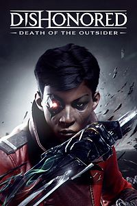 Carátula para el juego Dishonored: Death of the Outsider de Xbox One