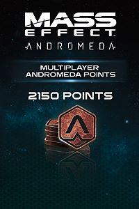 Carátula del juego 2150 Mass Effect: Andromeda Points de Xbox One