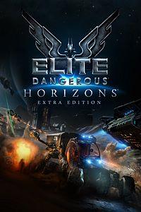 Carátula del juego Elite Dangerous: Horizons Extra Edition de Xbox One