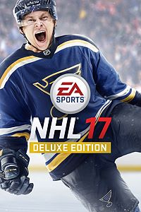 Carátula del juego EA SPORTS NHL 17 Deluxe Edition de Xbox One