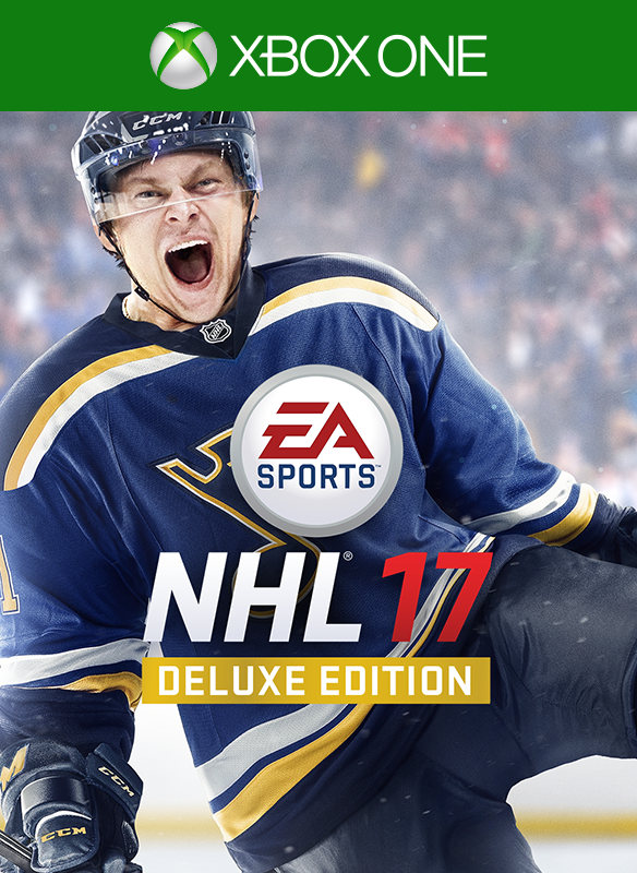 NHL 17 Deluxe boxshot
