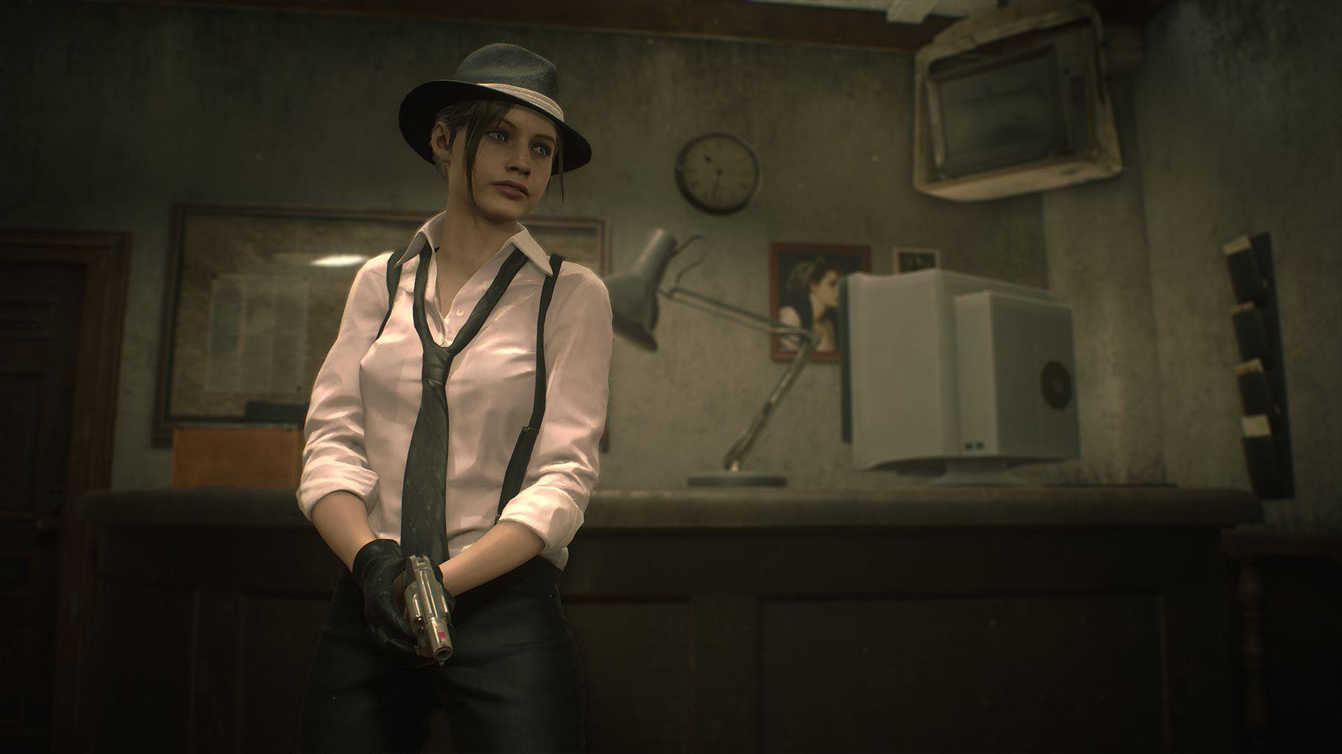 """Claire-Kostüm: """"Film noir"""""""