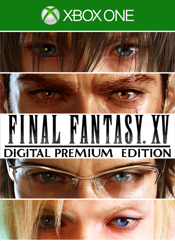FINAL FANTASY XV Digital Premium Edition boxshot