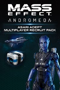 Carátula del juego Mass Effect: Andromeda - Asari Adept Multiplayer Recruit Pack de Xbox One
