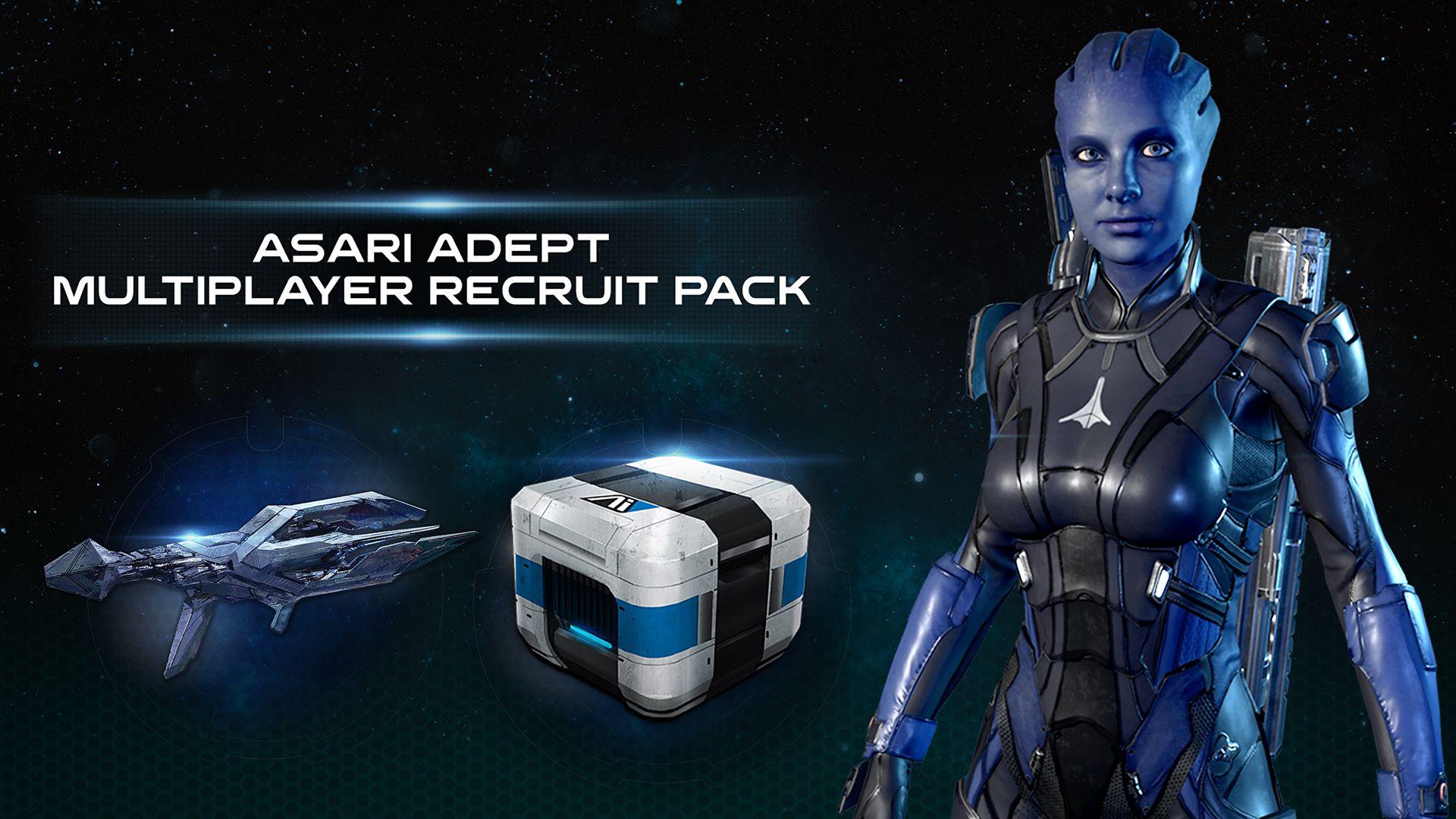 Mass Effect™: Andromeda - Paquete multijugador de recluta adepta asari