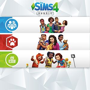 The Sims™ 4 Bundle - Cats & Dogs, Parenthood, Toddler Stuff Xbox One
