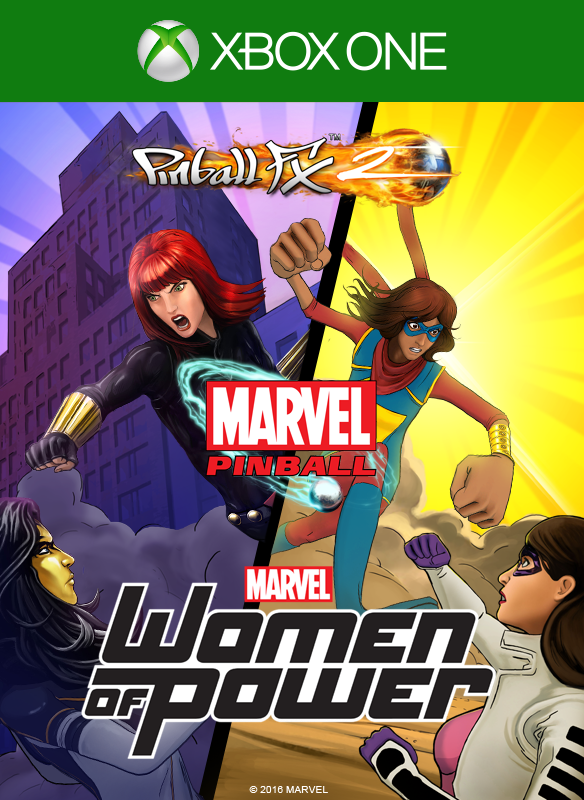 Pinball FX2 Marvel's Women of Power boxshot