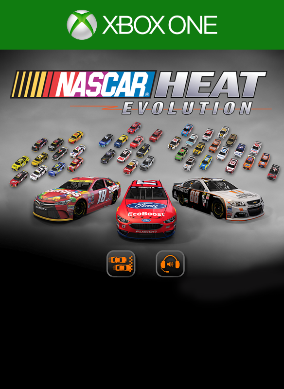 NASCAR Heat Evolution Pit Pass 1 boxshot