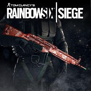 Tom Clancy's Rainbow Six Siege: Ruby weapon skin Xbox One