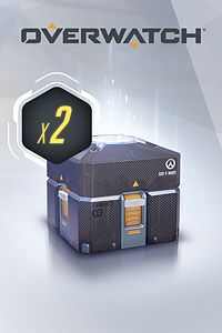 Carátula del juego Overwatch - 2 Anniversary Loot Boxes