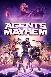 Carátula para el juego Agents of Mayhem de Xbox One