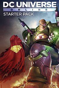Carátula para el juego DC Universe Online Starter Pack de Xbox 360