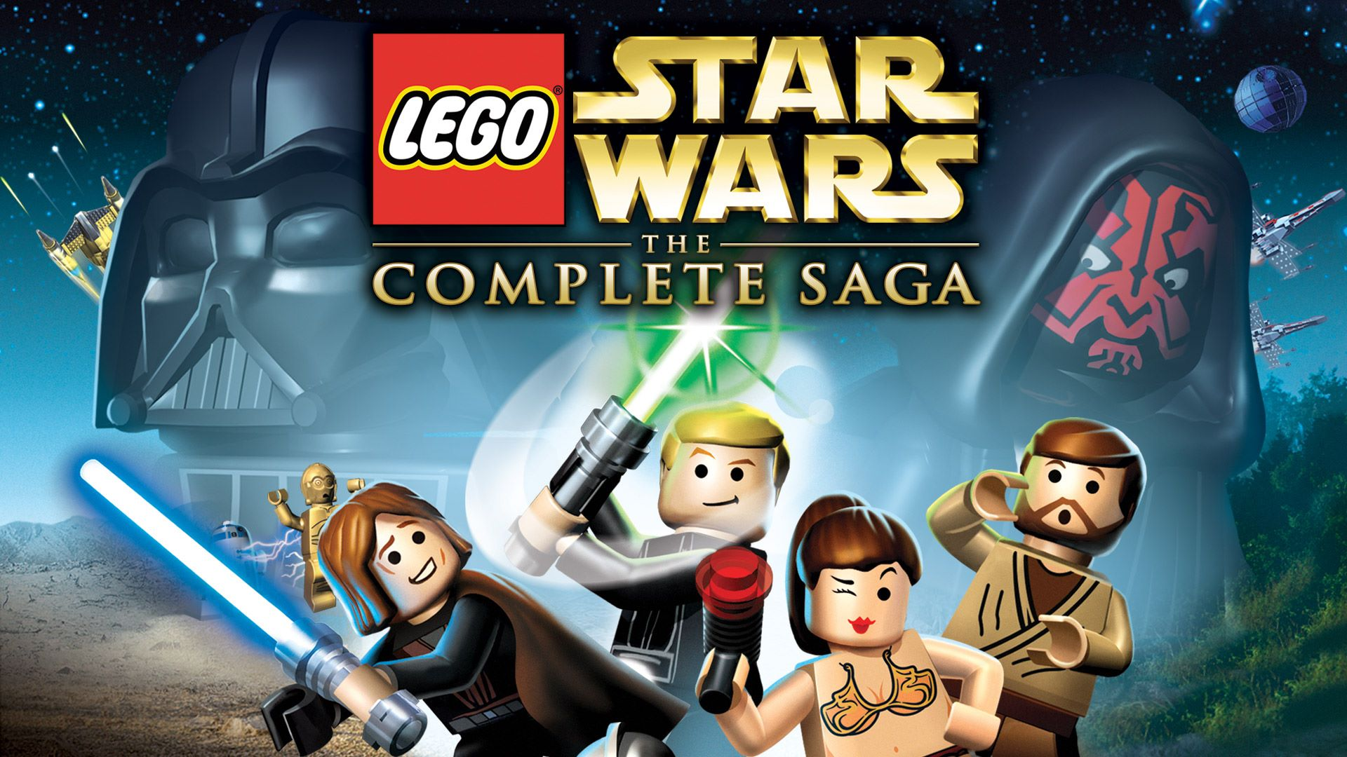 Image result for Lego Star Wars: The Complete Saga