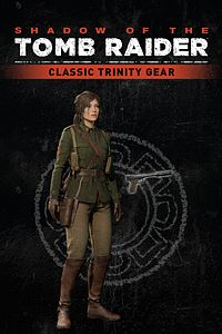 Carátula del juego Shadow of the Tomb Raider - Gear : Classic Trinity