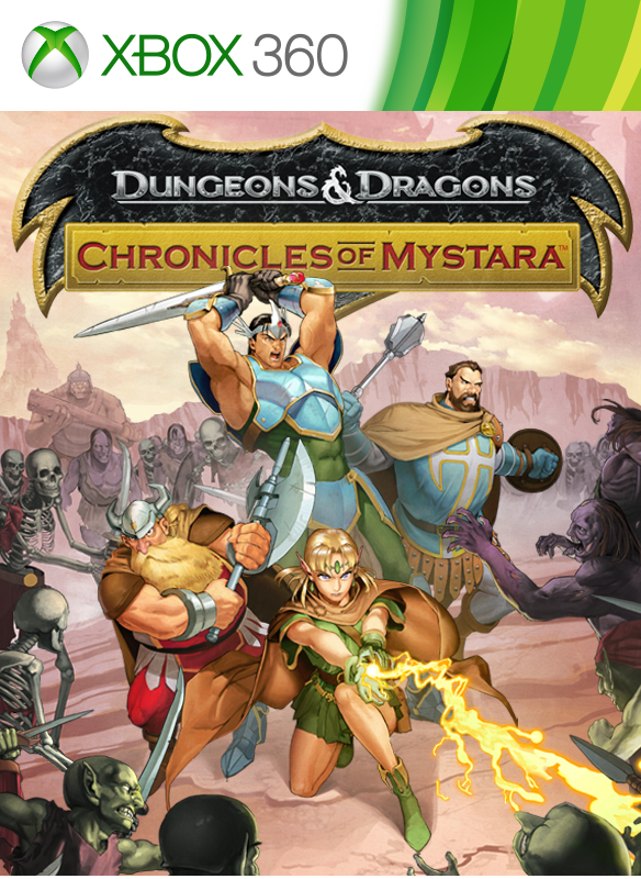 Dungeons & Dragons: Chronicles of Mystara boxshot