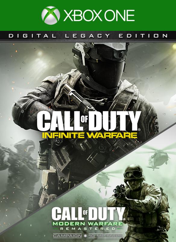 Call of Duty: Infinite Warfare Legacy Edition boxshot