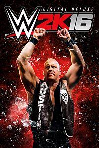 Carátula del juego WWE 2K16 Digital Deluxe Edition de Xbox One