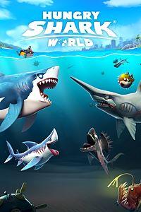 Carátula para el juego Hungry Shark World de Xbox 360