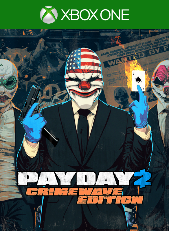 PAYDAY 2: CRIMEWAVE EDITION boxshot