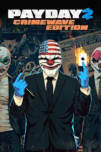 Carátula para el juego PAYDAY 2: CRIMEWAVE EDITION de Xbox 360
