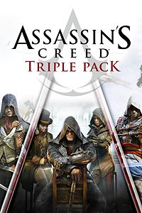 Carátula para el juego Assassin's Creed Triple Pack: Black Flag, Unity, Syndicate de Xbox 360