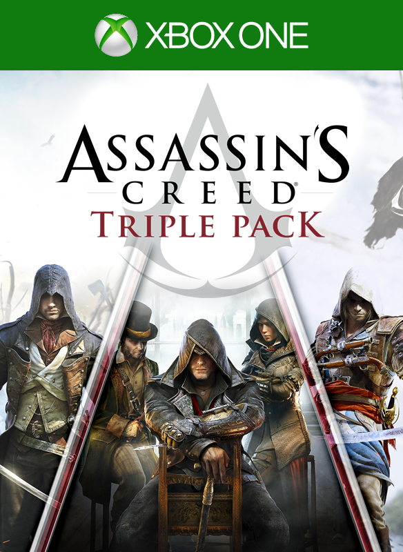 Assassin's Creed IV Triple Pack boxshot