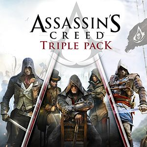 Assassin's Creed Triple Pack: Black Flag, Unity, Syndicate Xbox One