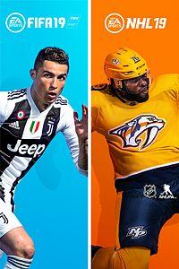 Ensemble FIFA19 et NHL®19