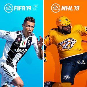《FIFA 19 - NHL™ 19》同捆包 Xbox One