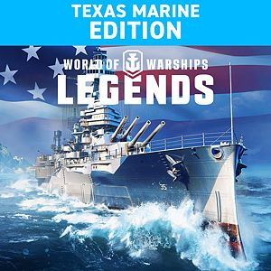 World of Warships: Legends. Texas Marine Xbox One