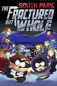 Carátula para el juego South Park: The Fractured but Whole de Xbox 360