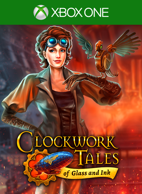 Clockwork Tales: Of Glass and Ink boxshot