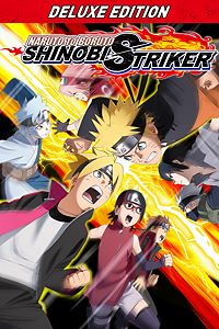 Carátula del juego NARUTO TO BORUTO: SHINOBI STRIKER Deluxe Edition